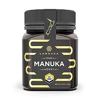 Lamohka Raw Manuka Honey from New Zealand, UMF 15+ (MGO 500+) Certified 8.8oz, for...