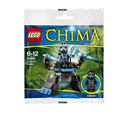Amazon.com: LEGO Legends of Chima Gorzan Juego de Walker ...