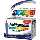 Multicentrum Hombre, Complemento Alimenticio con 13 Vitaminas y 11 Minerales, para Hombres a partir de los 18 años - 30…