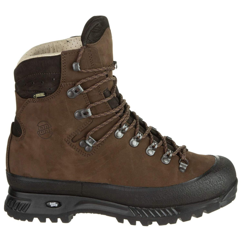 Hanwag Alaska GTX Backpacking Boot - Men's-Dark Brown-Medium-10.5 H2303-56-10.5 US by Hanwag