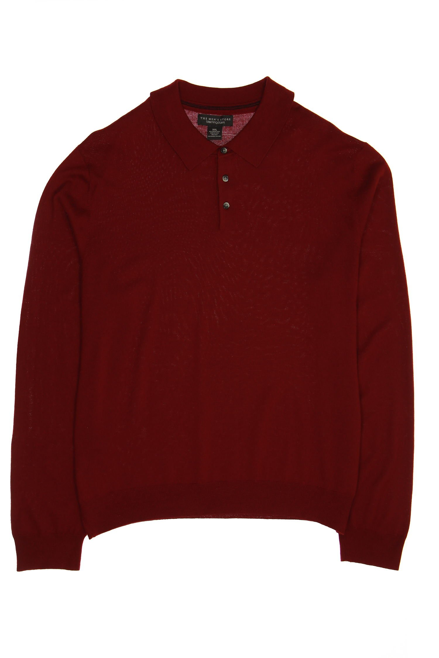 Baruffa Wine Polo Sweaters, Size 2XLarge by Baruffa