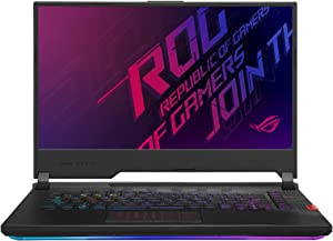 """CUK ROG Strix Scar 15 G532LWS by ASUS 15 Inch Gaming Notebook (Intel Core i9, 64GB RAM, 2TB NVMe SSD, NVIDIA GeForce RTX 2070 Super 8GB, 15.6"""" FHD 300Hz IPS, Windows 10 Pro) Gamer Laptop Computer"""