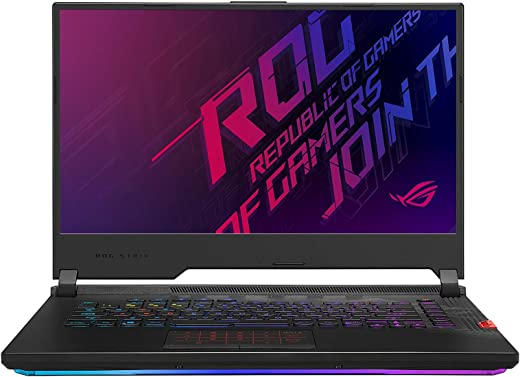 """CUK ROG Strix SCAR 15 G532LWS by ASUS 15 Inch Gaming Notebook (Intel Core i7, 32GB RAM, 1TB NVMe SSD, NVIDIA GeForce RTX 2070 Super 8GB, 15.6"""" FHD IPS 240Hz 3ms, Windows 10 Home) Gamer Laptop Computer"""