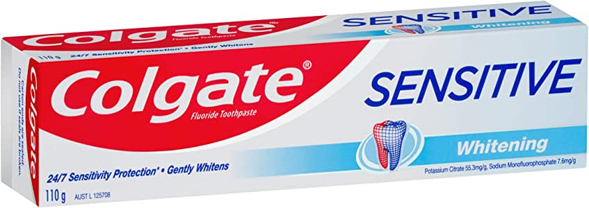 Colgate Sensitive Teeth Pain Whitening Sensitive Toothpaste 110g