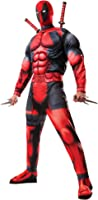 Marvel Rubie's Men's Universe Classic Muscle Chest Deadpool Costume