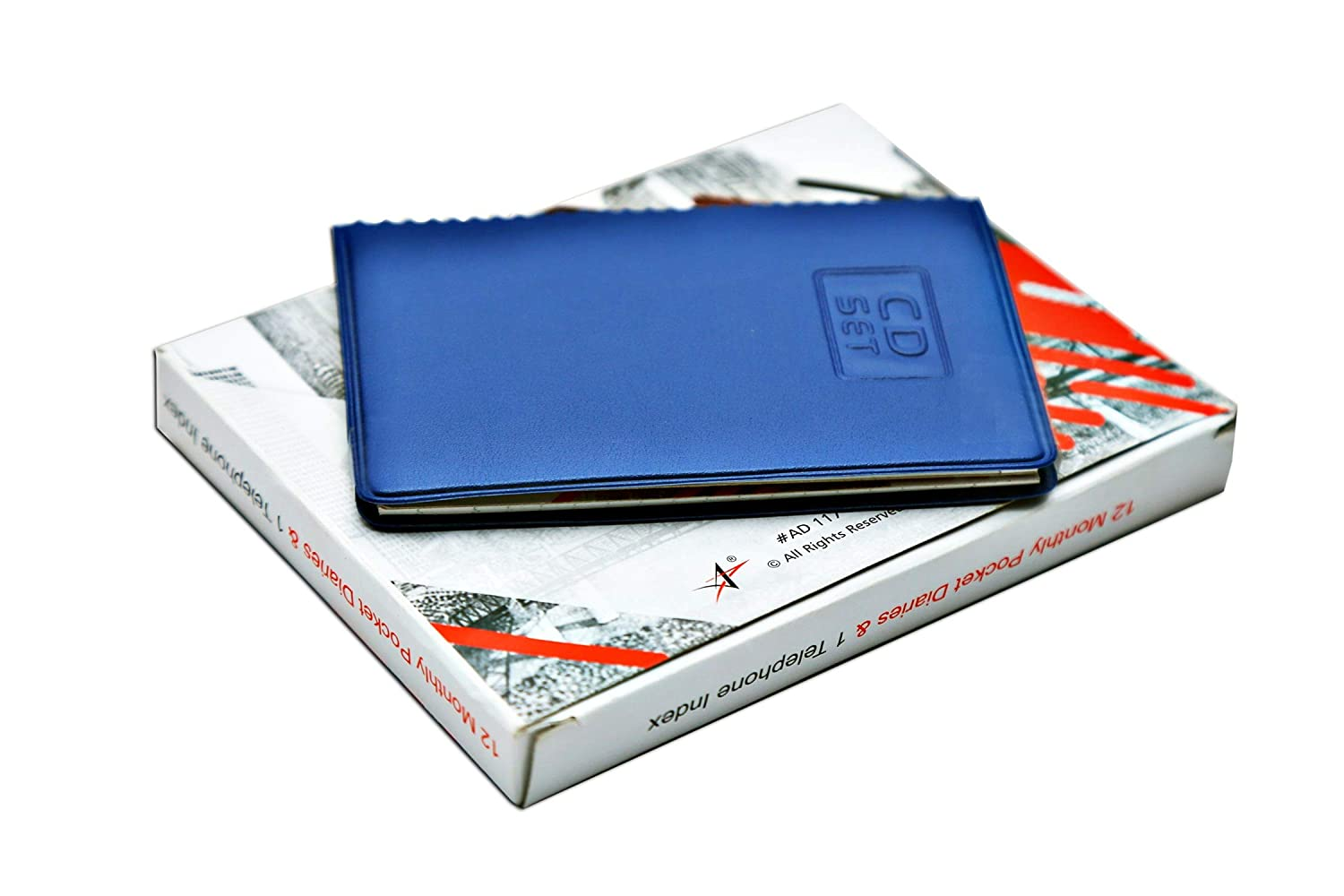 48028d9eb Anand Diaries Premium Quality Pocket Diary  2019  Monthly Set (Along with  Telephone Index)  Amazon.in  Office Products