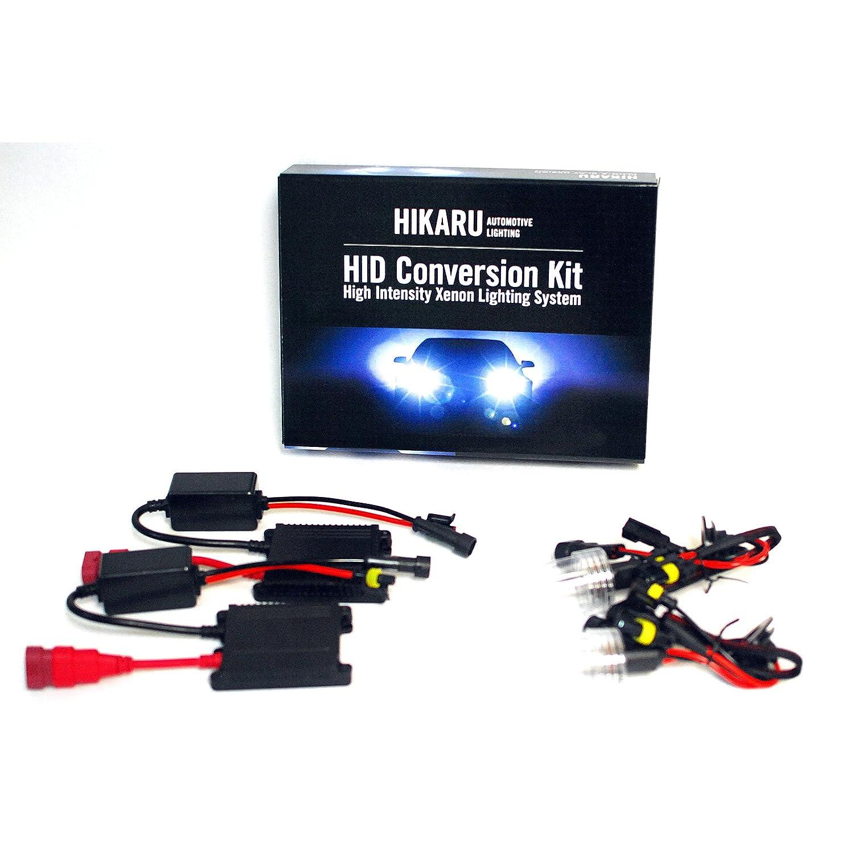 Amazon HIKARU H9 W K Clear White Ultra Slim Xenon HID