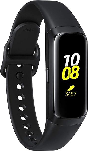 Samsung Galaxy Fit - Smartwatch, color Negro/Plata: Amazon.es ...