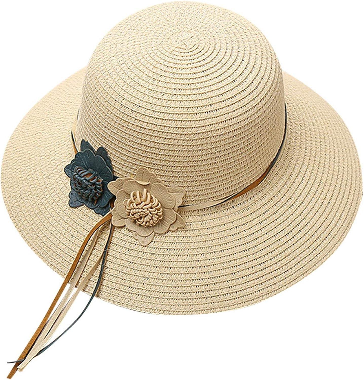 501 2019 Women Beach Straw Hat Jazz Sunshade Panama Trilby Fedora Hat Gangster Cap Casual hot