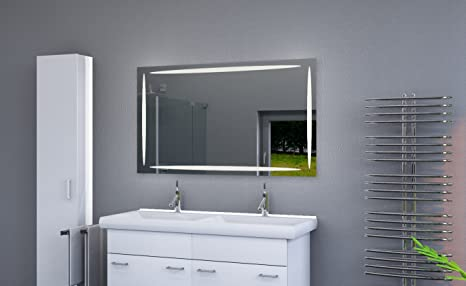 Led specchio bagno illuminato con luce led specchio da bagno con