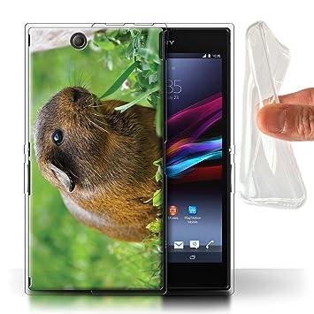 eSwish Carcasa/Funda TPU/Gel para el Sony Xperia Z Ultra ...