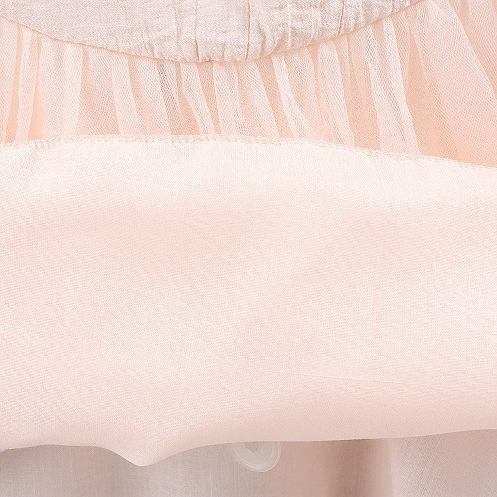 SSUPLYMY-Christening Baptism Gown Dress for Baby Girls Lace Bowknot Wedding Birthday Party Princess Flower Dress Solid Tulle Princess Dress Outfits