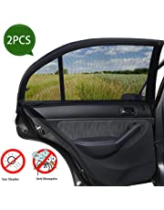 SPECOOL Ventana lateral para el automóvil Pantalla solar y ventana trasera Sombrilla (paquete de 2