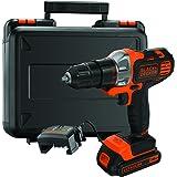 Black+Decker MT218K-QW - Multievo™ Multiherramienta con cabezal atornillador 18V 1.5Ah Litio con maletín