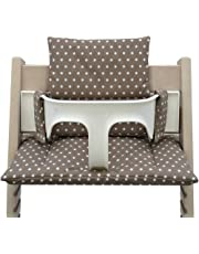 Blausberg Baby *41 couleurs* coussin set de siège pour chaise haute Stokke Tripp Trapp tous les matériaux sont certifiés OEKO-TEX® Standard 100-100% made in Hamburg