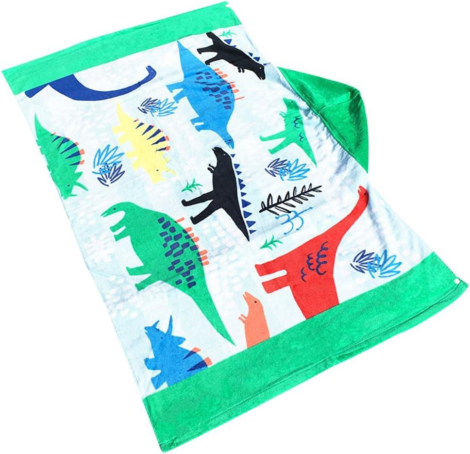Leebaby Enfants /À Capuchon Plage Serviette Couverture Coton Super Absorbant Mignon Catoon Bain Natation Serviette Cape Cape Manteau Gar/çon Fille Bateau Pirate
