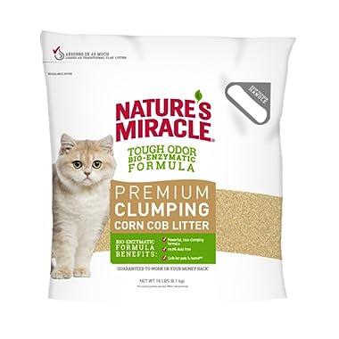 Nature's Miracle Premium Clumping Corn Cob Litter Tough Odor Formula