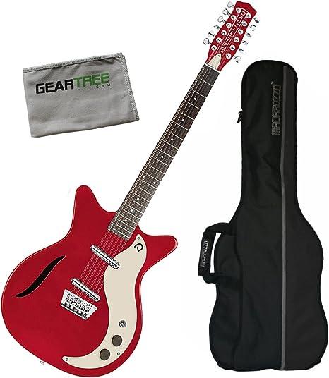 Danelectro 59 Vintage Semi hueca de 12 cuerdas para guitarra ...