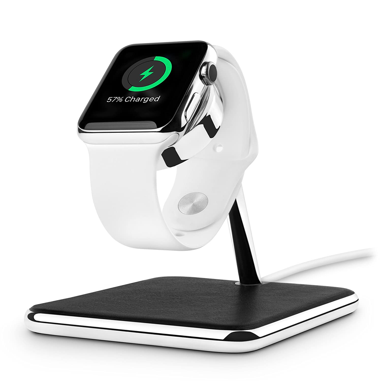 twelve south apple watch  : Twelve South Forte for Apple Watch | Chrome and Leather ...