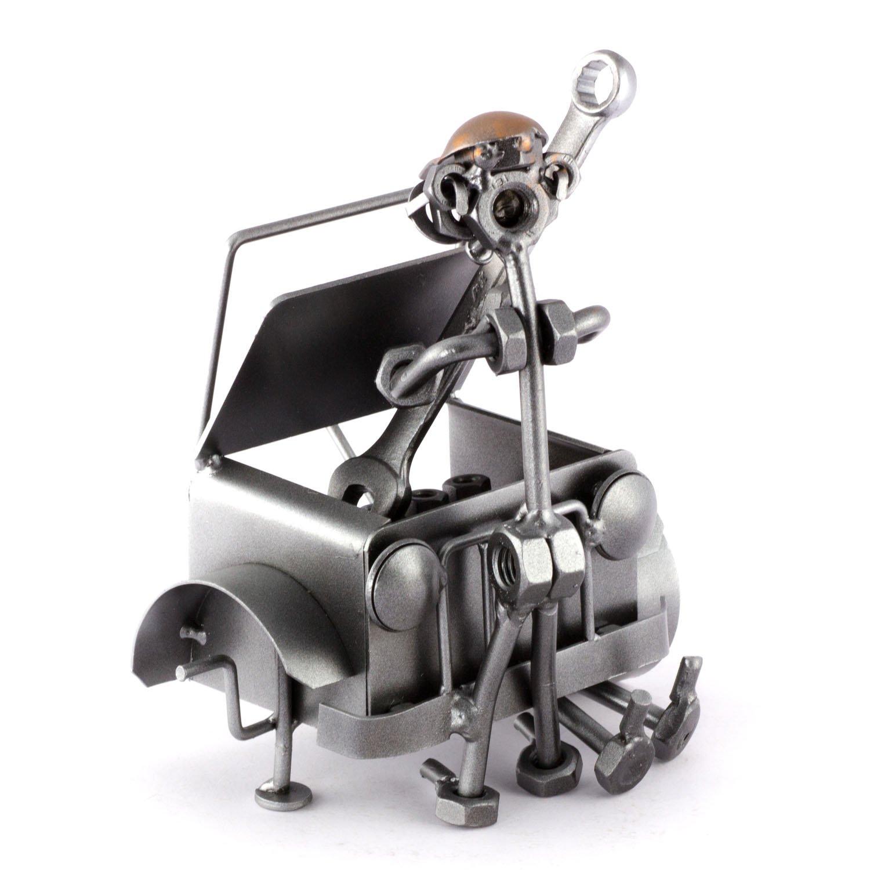 /ausgefallene a Mano Idea Regalo Steelman24 Vite maennchen Auto Meccanico/