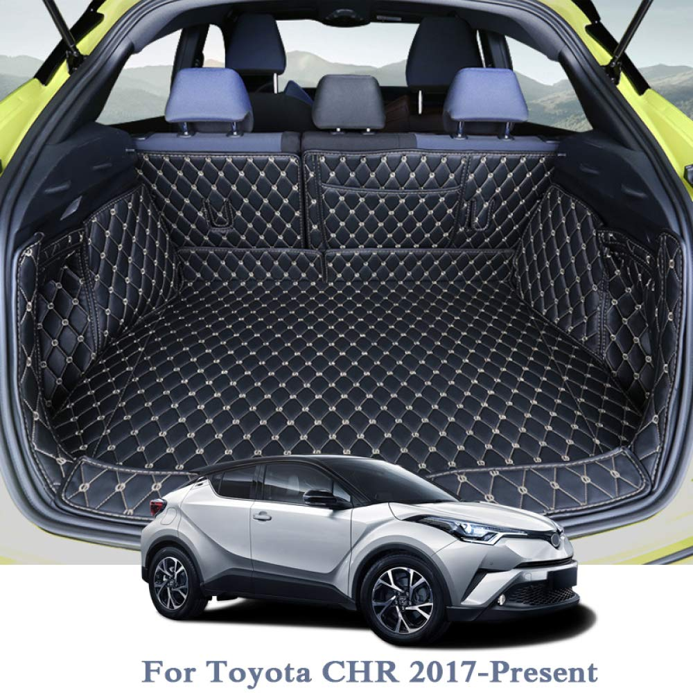 Tapis de Coffre de Voiture Arri/ère Coffre Doublure Cargo Floor Plateau Protecteur Accessoires Tapis FSXTLLL pour Toyota CHR 2017