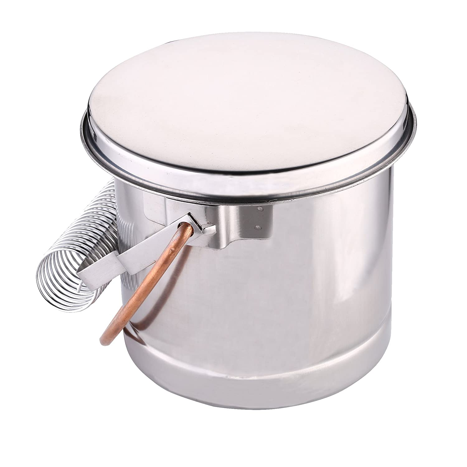 What's Fun Extra Large Portable Brush Washer, Stainless Paint Brushes Cleaner with Wash Tank & Removable Screen What's Fun 4336974169