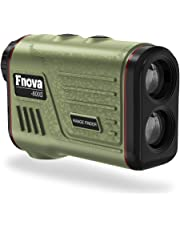 Fnova Laser Rangefinder, Hunting Range Finder Ranging 600 Meters, 1 m Accuracy, 7X Magnification Lens with Distance and Speed Mode for Golf, Racing, Archery, Survey, Laser Distance Meter
