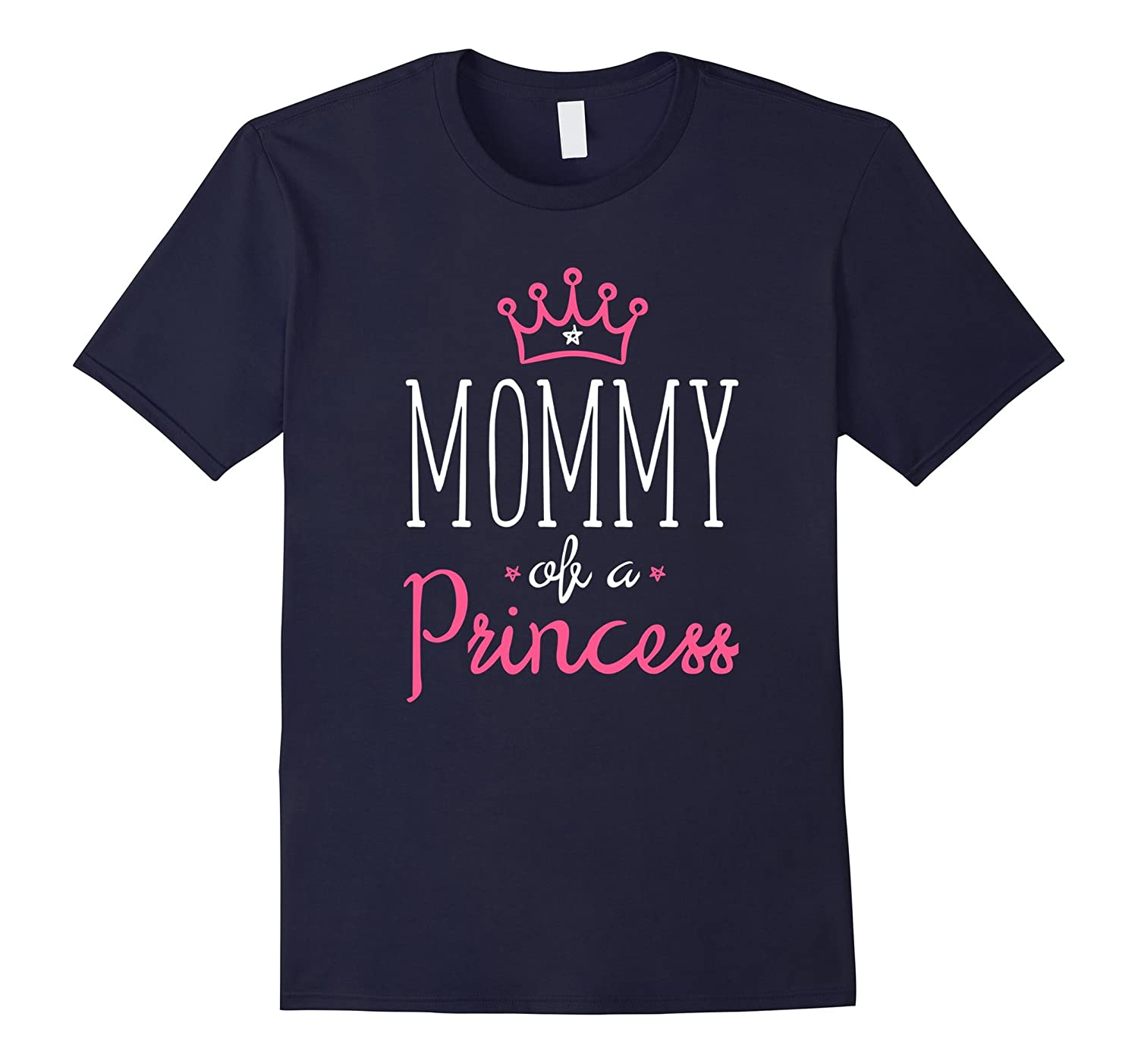 Mother and Daughter Matching Clothes Mom Quote Crown T-Shirt-TH