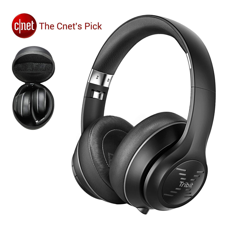 Tribit XFree Tune Cuffie Bluetooth Over Ear - Cuffie wireless 40 ore di riproduzione