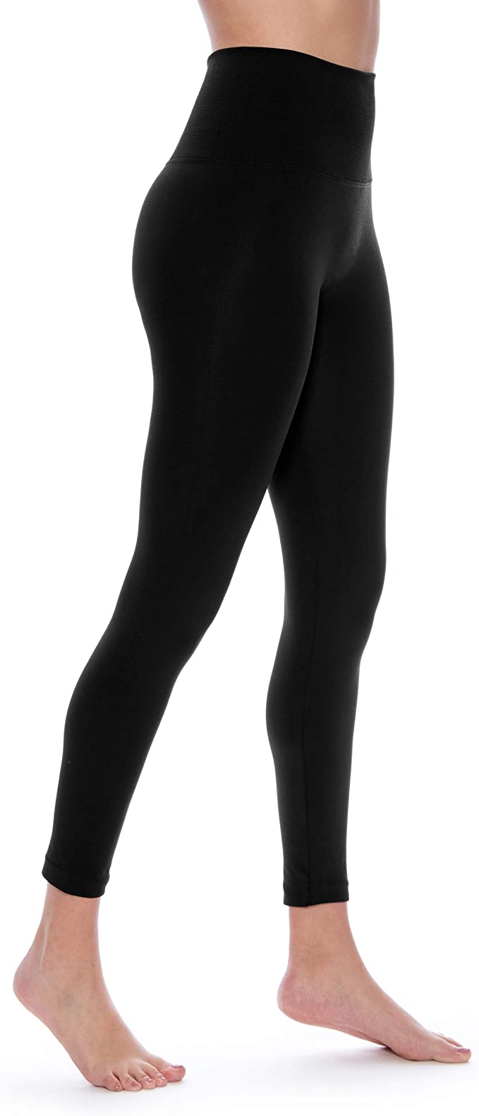 Indero High Waist Yoga Fleece Lined Warm Ultra Soft Leggings