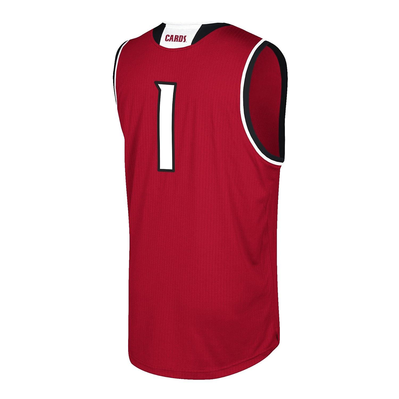 adidas Louisville Cardinals NCAA 1 Red Replica Basketball Jersey