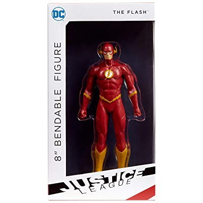 "NJ Croce The Flash Bendable Action Figure, Multicolor, 8"": Toys & Games"