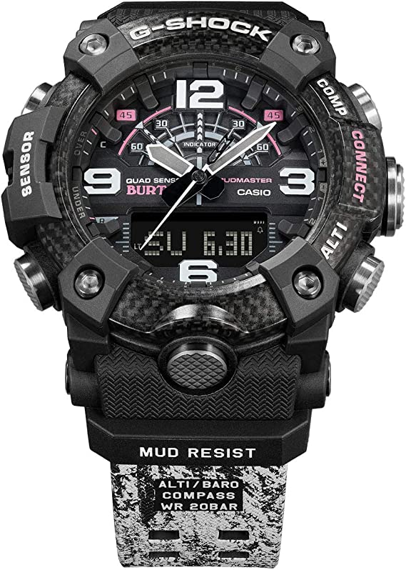 Burton X Casio G-Shock Mudmaster Limited Edition Reloj para hombre ...