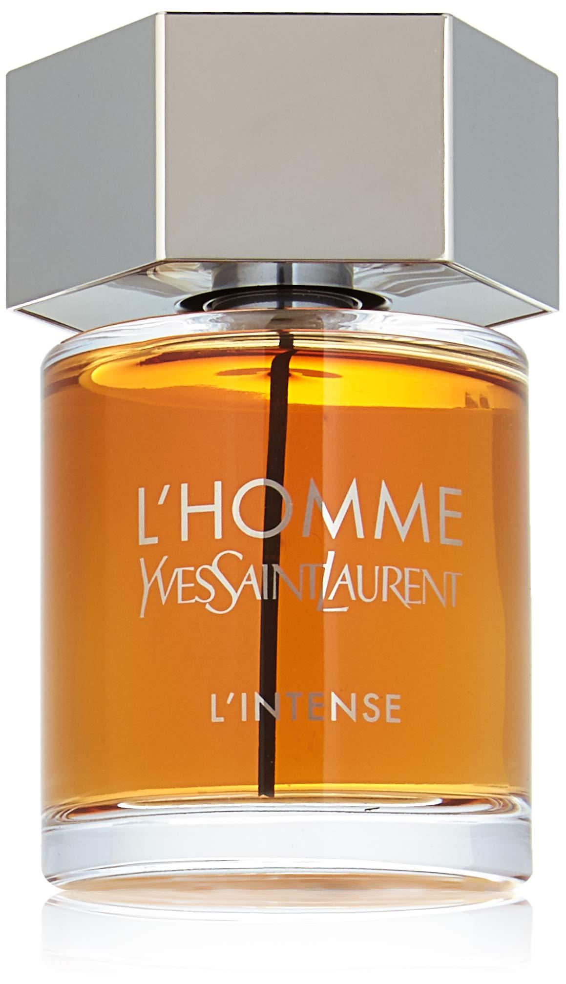 Yves Saint Laurent L'homme Intense for Men Eau De Parfum Spray, 3.3 Ounce