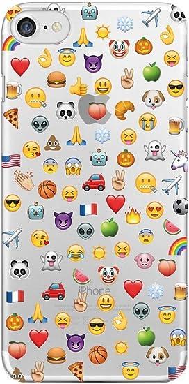 Coque Emoji [Emoticon] [Emoticones] pour iPhone & Samsung (Samsung J3 (2016))