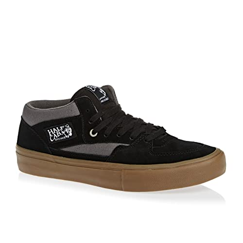 7fbf073d161390 Vans Half Cab Pro Black Pewter Gum Uk7  Amazon.co.uk  Shoes   Bags