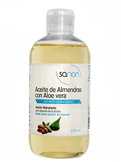 Sanon Aceite de Almendras con Aloe Vera - 2 Unidades