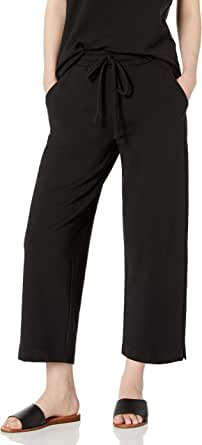 Daily Ritual Amazon Brand Women's Terry Cotton and Modal Easy Lounge Pant