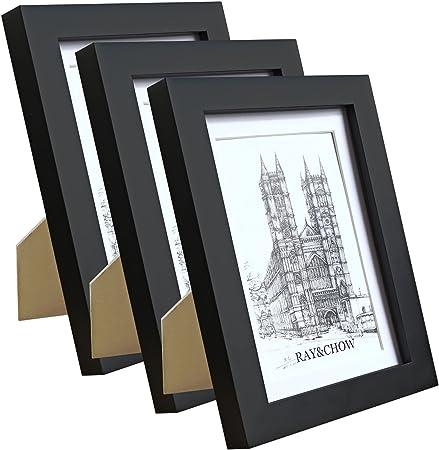 Personnalisé Paysage Ou Portrait en bois cadre photo 7x5 Tout Texte toute occasion