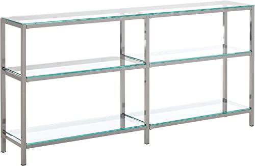 Reviewed: Coaster Home Furnishings Book Case Coaster Contemporary Black Nickel Finished Two Tier Metal Bookcase/Console