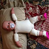Great doll for REAL baby clothes!