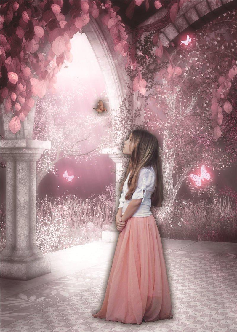Daniu flores puerta de fondo de la fotograf/ía para los ni/ños hermosas flores 150x210cm foto estudio backdrops vinilo bj018