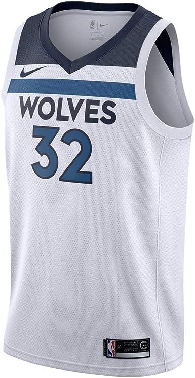 Amazon.com: Nike Min Mens NBA Swingman Home Jersey 864431-101 ...