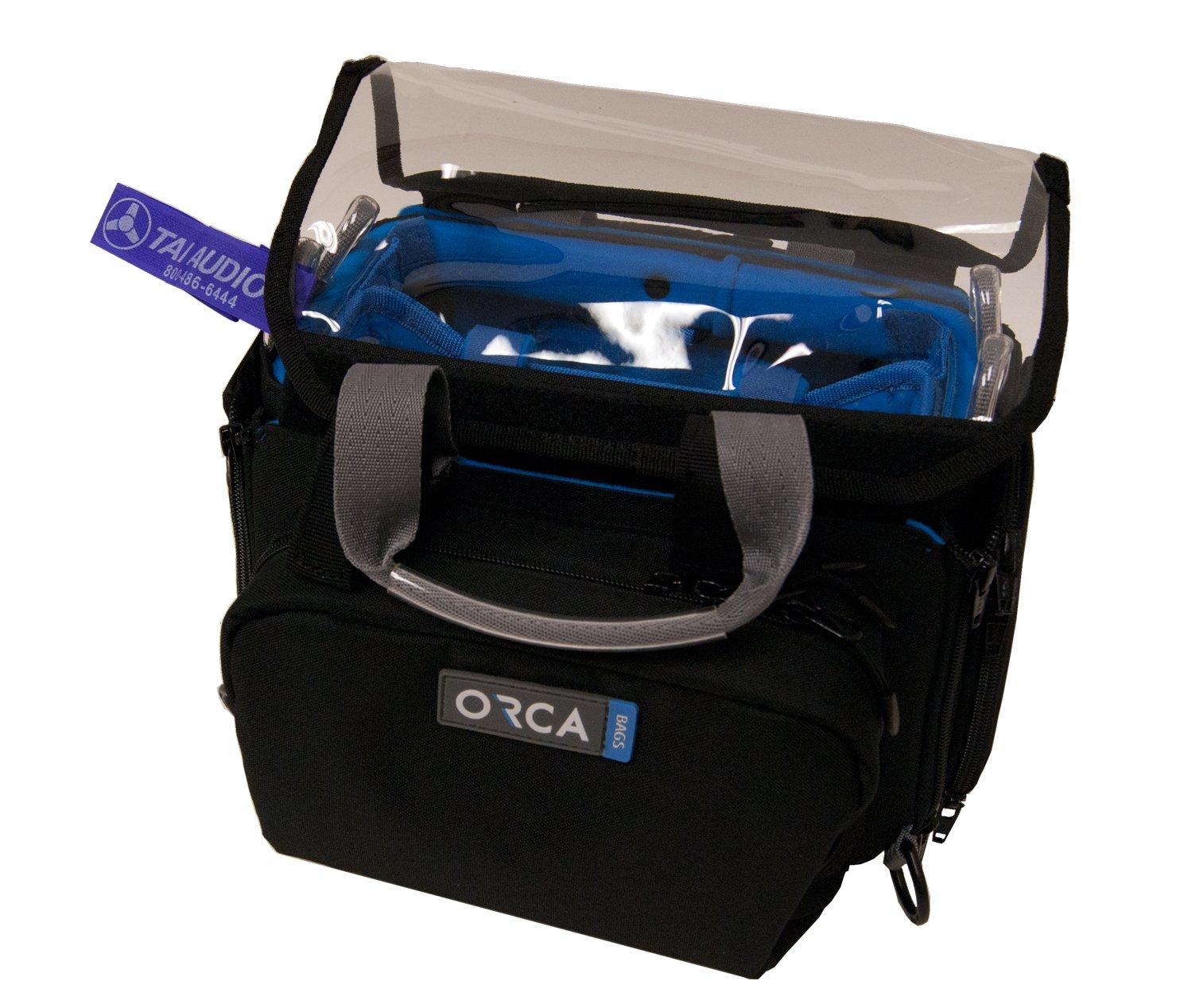 Orca OR-28 Mini Audio Bag w/TAI Audio Cable Strap