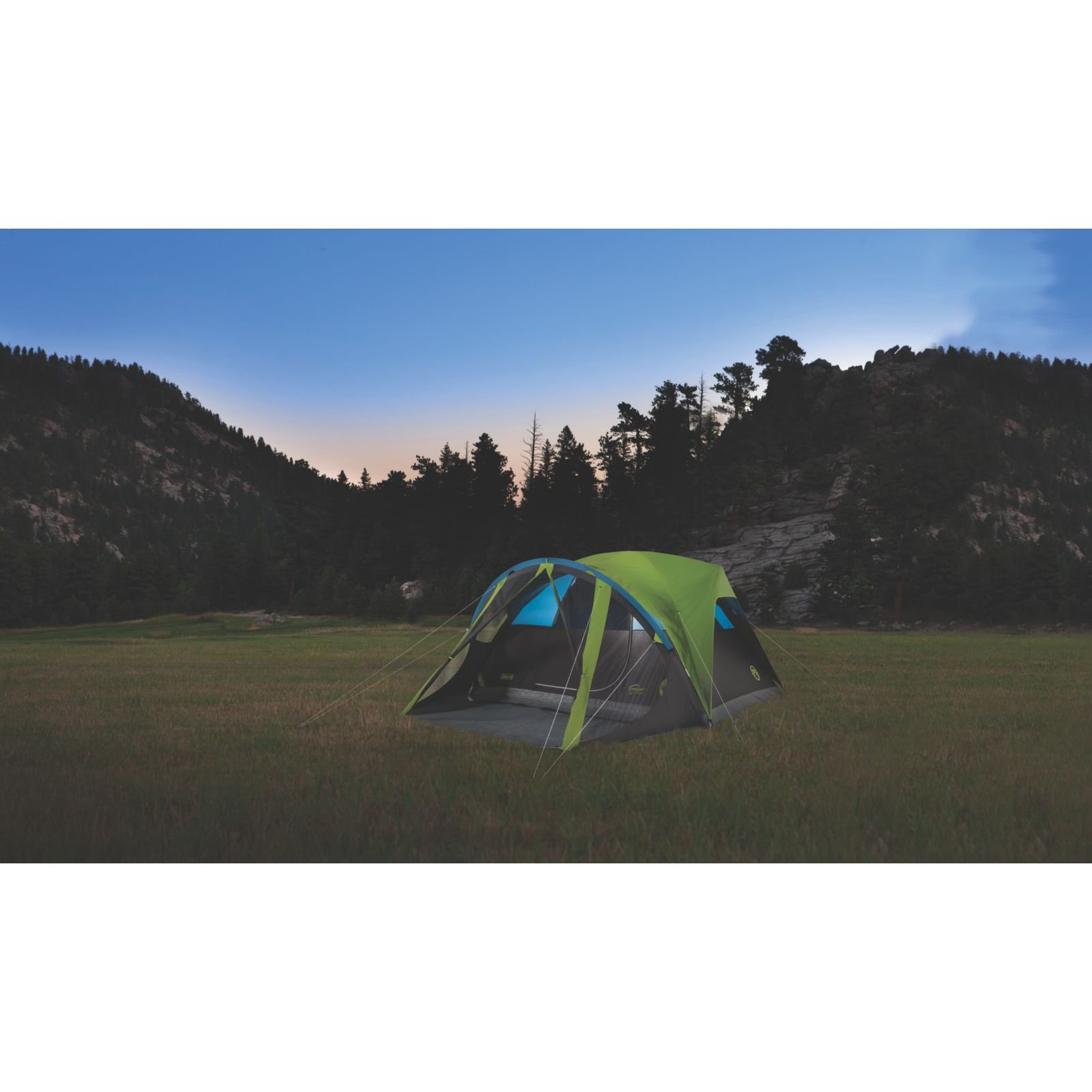 Coleman Carlsbad 4-Person Dome Tent with Screen Room by Coleman (Image #5)