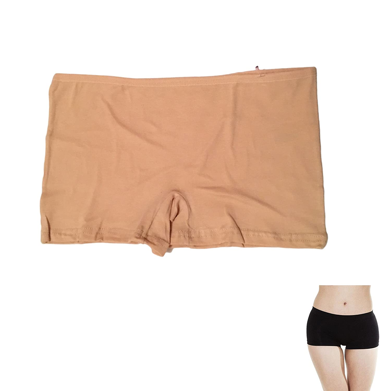 2 Pairs Ladies Quality Plain Underwear Knickers Briefs Panties Boxer Boy shorts