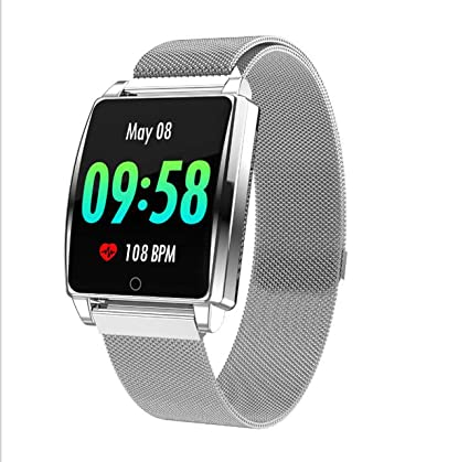 Amazon.com: Fitness Tracker Smart Watch with Tempered Glass ...