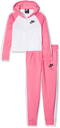 best loved 348bf 2d073 Nike - G NSW TRK Suit PE, Tuta Bambina