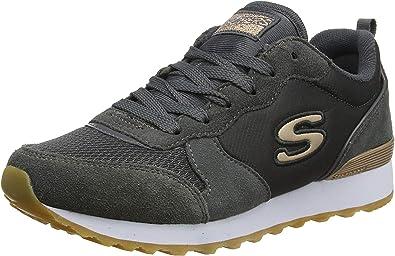 Oferta amazon: Skechers Retros-OG 85-goldn Gurl, Zapatillas Mujer Talla 37.5 EU