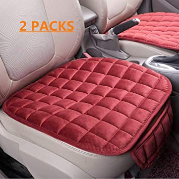 1 Pack Rear Seat Bottom Cover Car Interior Accessories HONCENMAX Car Back Seat Cover Rear Seat Cushion Pad Mat Protector Universal for Sedan Hatchback SUV